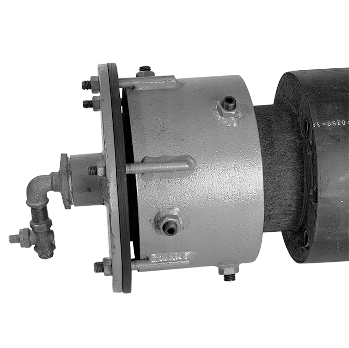 Universal sealing end for pipes